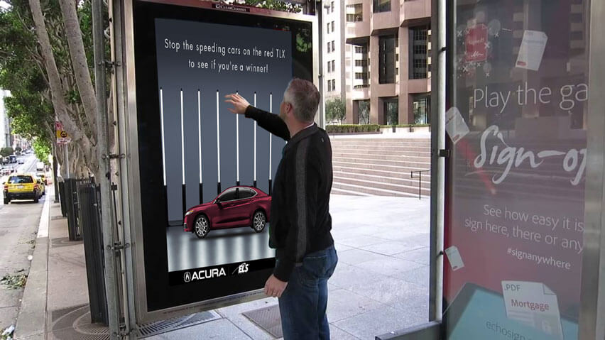 Digital Signage Games - The future of outdoor engagement